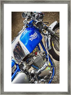 Tribsa Cafe Racer Framed Print by Tim Gainey