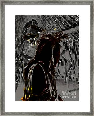 Tribute To Mateo Framed Print by Cheryl Young
