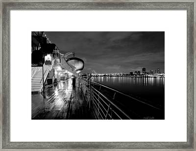 Tribute To Queen Mary Framed Print by Heidi Smith