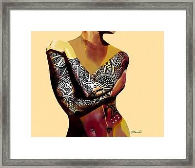 Trice 2 Framed Print by Cindy Edwards