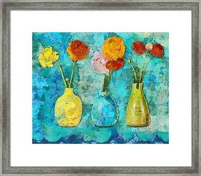 Triflorus - D11b Framed Print by Variance Collections