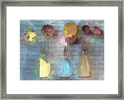Triflorus - S02ac4 Framed Print by Variance Collections