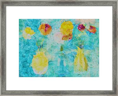 Triflorus - S22a01 Framed Print by Variance Collections
