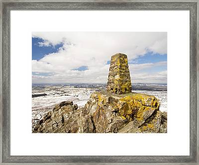 Trig Point Framed Print by Ashley Cooper
