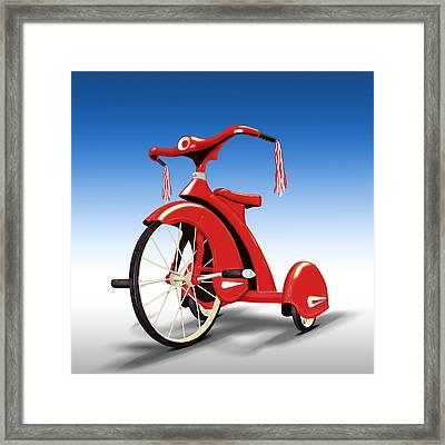 Trike Framed Print by Mike McGlothlen