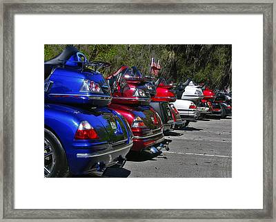 Trike - Parade Framed Print by Christine Till