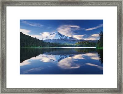 Trillium Escape Framed Print by Darren  White