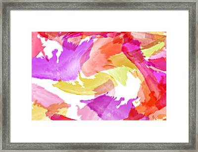 Trilogy Framed Print by Diana Angstadt