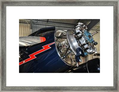 Trimotor Close Up Framed Print by Todd and candice Dailey
