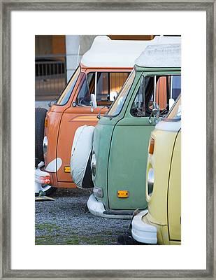 Triple Decker Buses Framed Print by MaJoR Images