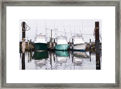Triple Pleasure - Outer Banks Framed Print by Dan Carmichael
