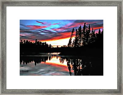 Tripping Framed Print by Steve Harrington