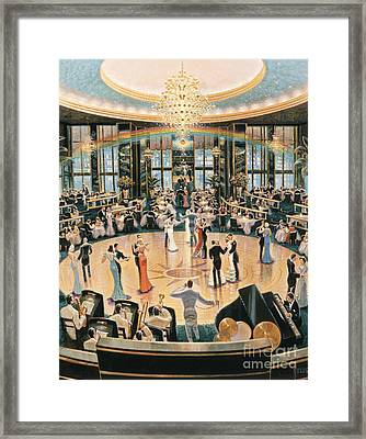 Tripping The Lights Fantastic Framed Print by Michael Young