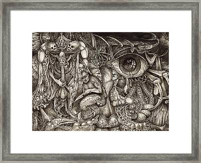 Tripping Through Bogomils Mind Framed Print by Otto Rapp