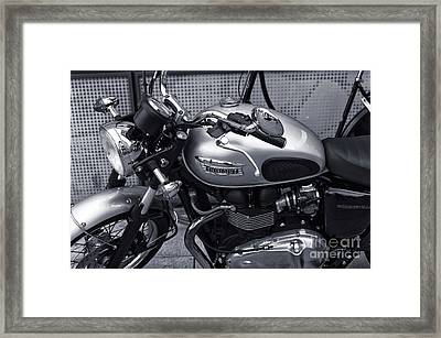 Triumph In Hamburg Mono Framed Print by John Rizzuto