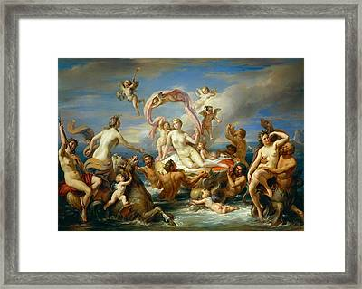 Triumph Of Venus Framed Print by Anonymous