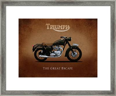 Triumph - The Great Escape Framed Print by Mark Rogan