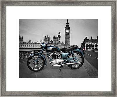 Triumph Thunderbird 1955 Framed Print by Mark Rogan