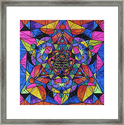 Triune Transformation Framed Print by Teal Eye  Print Store