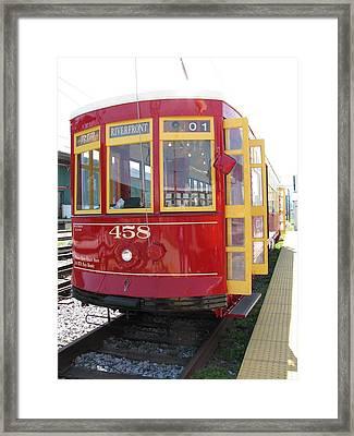 Trolley 458 Framed Print by Steven Parker
