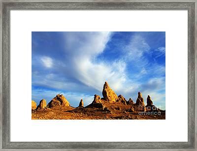 Trona Pinnacles California Framed Print by Bob Christopher