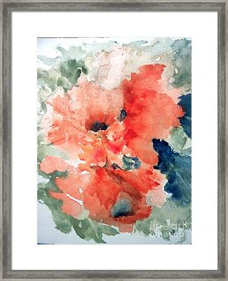 Tropical Bliss Framed Print by Trilby Cole