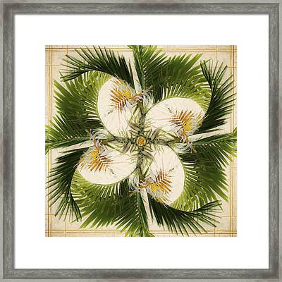Tropical Design Framed Print by Carol Leigh