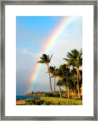 Tropical Dreamin' Framed Print by Lynn Bauer