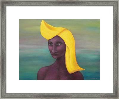 Tropical Mona Framed Print by Douglas Case