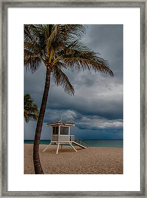 Tropical Paradise Framed Print by Mike Burgquist