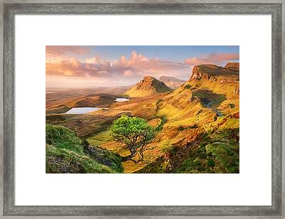 Trotternish Framed Print by Michael Breitung