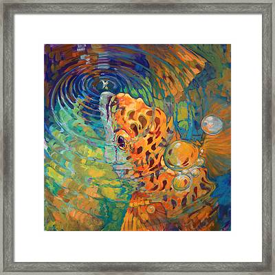 Trout Rise Framed Print by Savlen Art