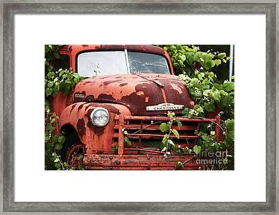 Truck Framed Print by John Rizzuto