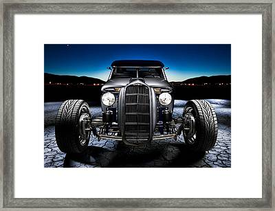 Millers Chop Shop 1964 Truckster Frontend Framed Print by Yo Pedro
