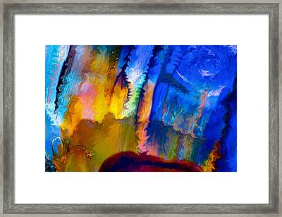 True Love Framed Print by Omaste Witkowski