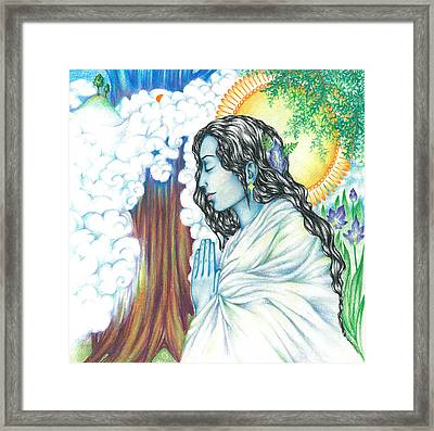 True Nature   Oneness Art Framed Print by Lydia Erickson