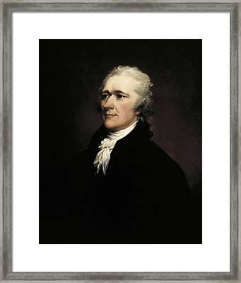 Trumbull, John 1756-1843. Alexander Framed Print by Everett