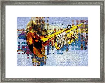 Trumpet Framed Print by Jack Zulli