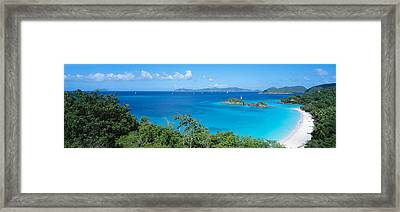 Trunk Bay Virgin Islands National Park Framed Print by Panoramic Images