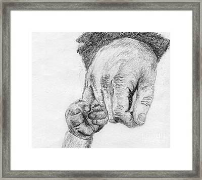Trust Framed Print by Annemeet Hasidi- van der Leij