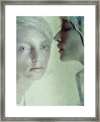 Trying To Reach The Unreacheble One Framed Print by Gun Legler