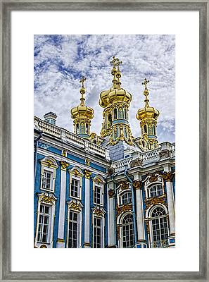 Tsarskoye Selo - The Tsars Village Framed Print by Jon Berghoff