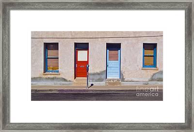 Tucson Arizona Doors Framed Print by Gregory Dyer