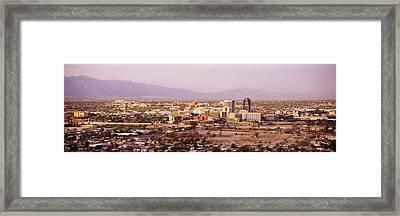 Tucson Arizona Usa Framed Print by Panoramic Images