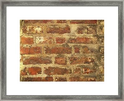 Tudor Brickwork Framed Print by Cordelia Molloy