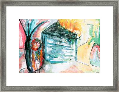 Tuesday Afternoon Framed Print by Lyndsey Hatchwell