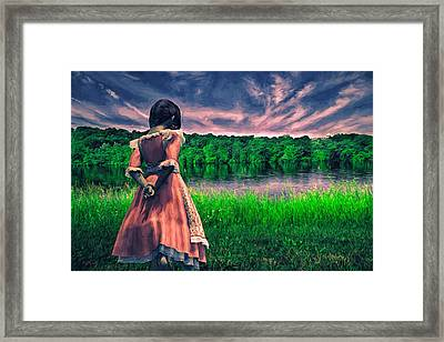 Tuesdays Child Framed Print by Bob Orsillo