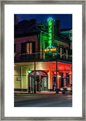 Tujague's Framed Print by Steve Harrington