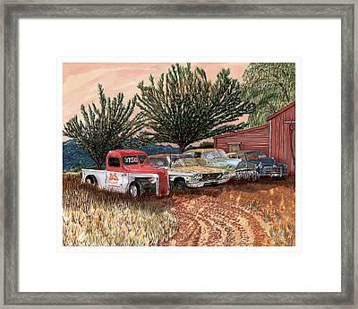 Tularosa Motors Framed Print by Jack Pumphrey