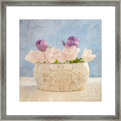 Tulip Still Life Framed Print by Betty LaRue